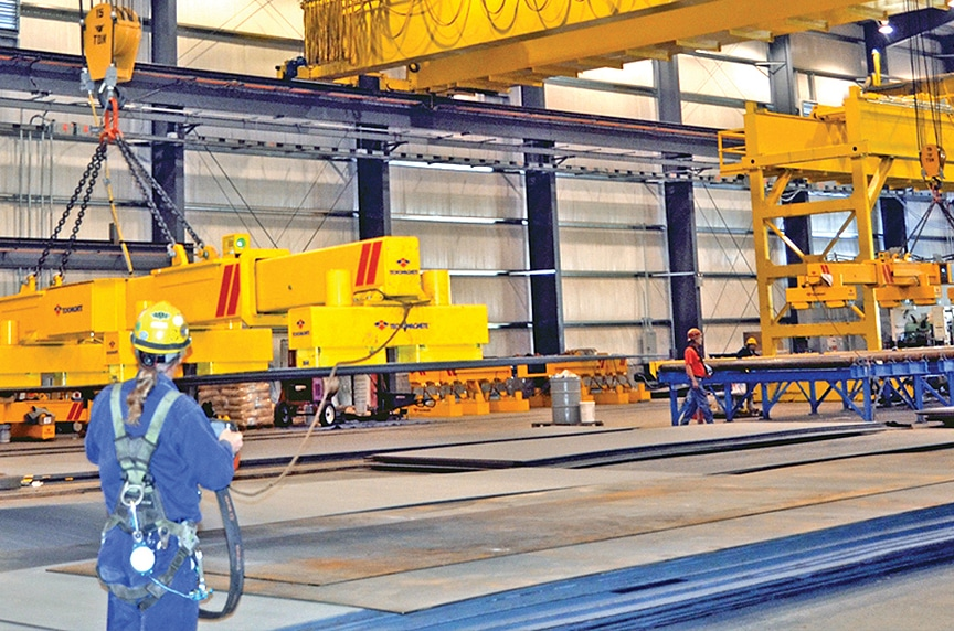 Overhead Crane Safety Systems: Monitoring