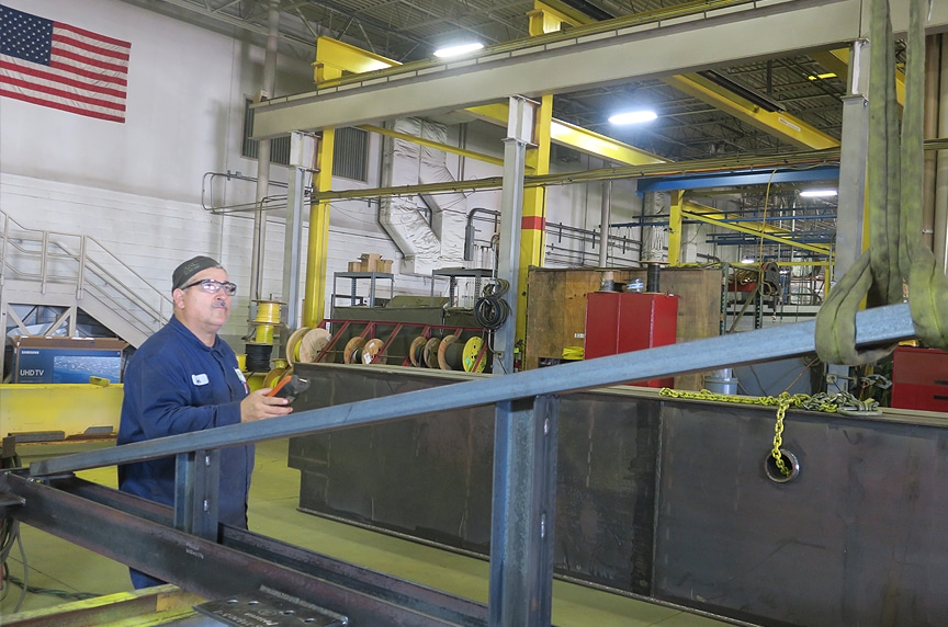 Overhead Crane Safety Systems: Remote Controls 2