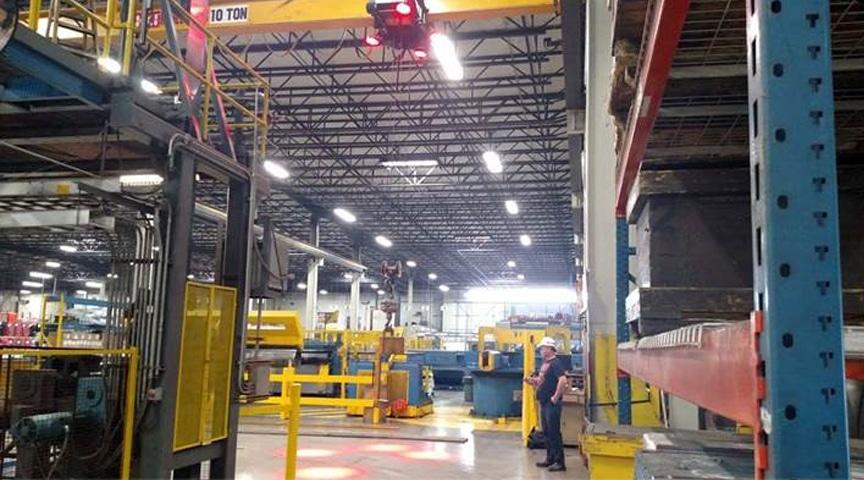 Overhead Crane Safety Systems: Crane Safety Lights