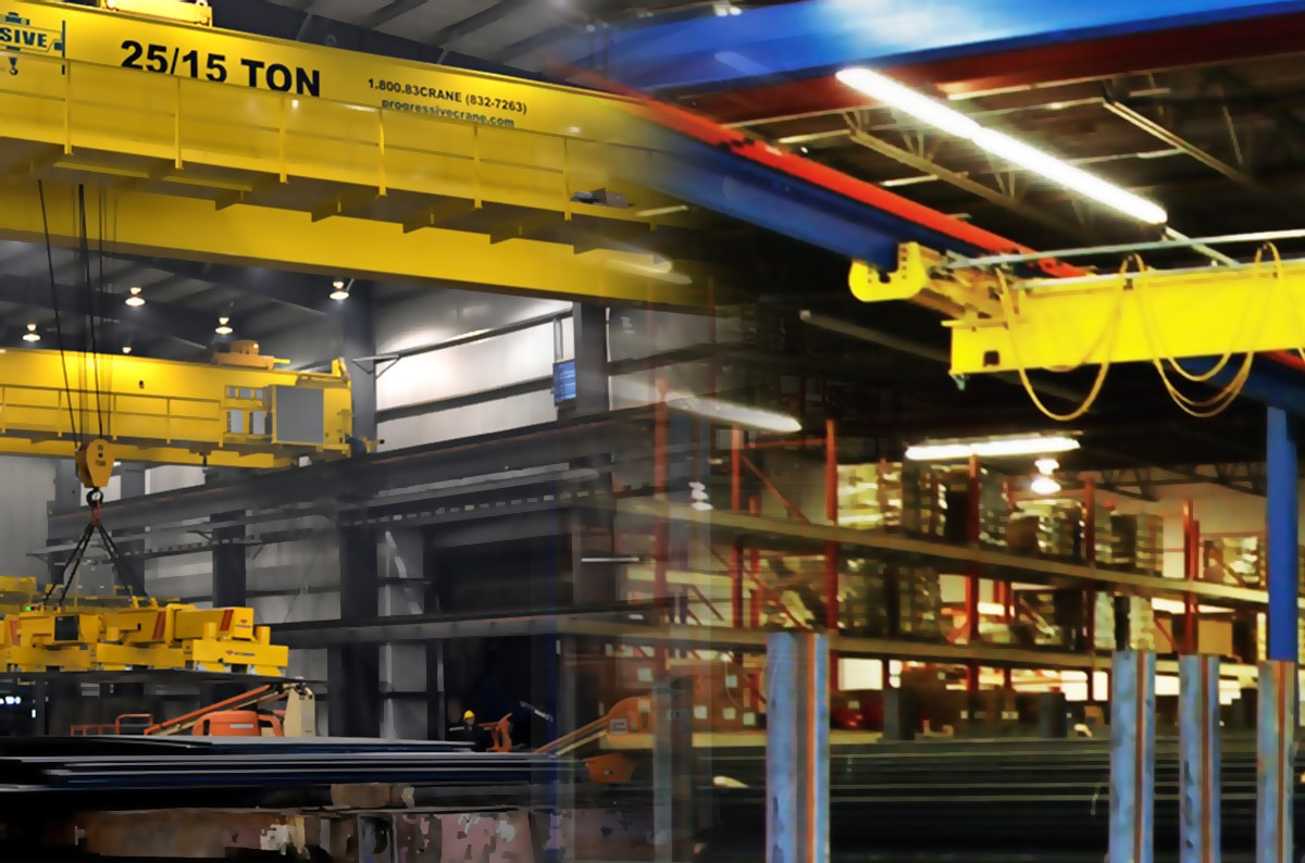 Top Running vs. Under Running Cranes: Definitions and Comparisons