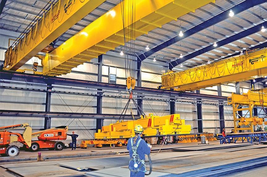 Upgrading Your Overhead Crane's Capacity: Upgraded Cranes