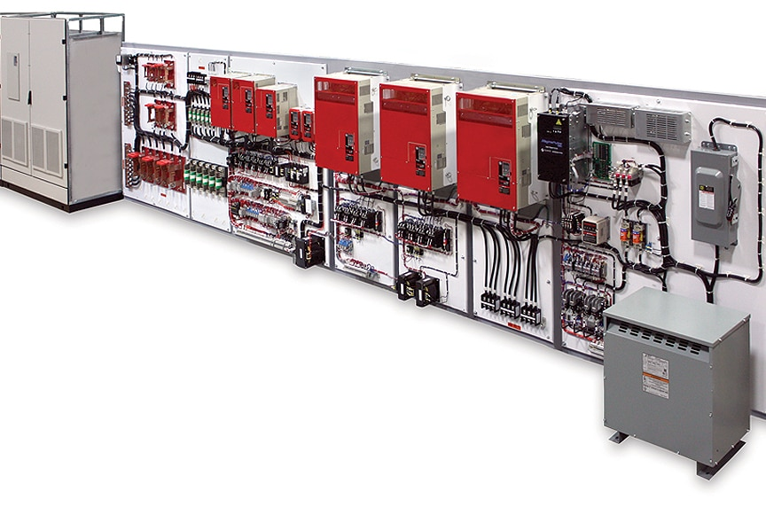 Variable Frequency Drives: Full Control Panel