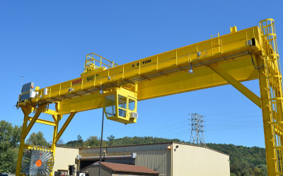 What is a Gantry Crane? Different Types and Design: Featured