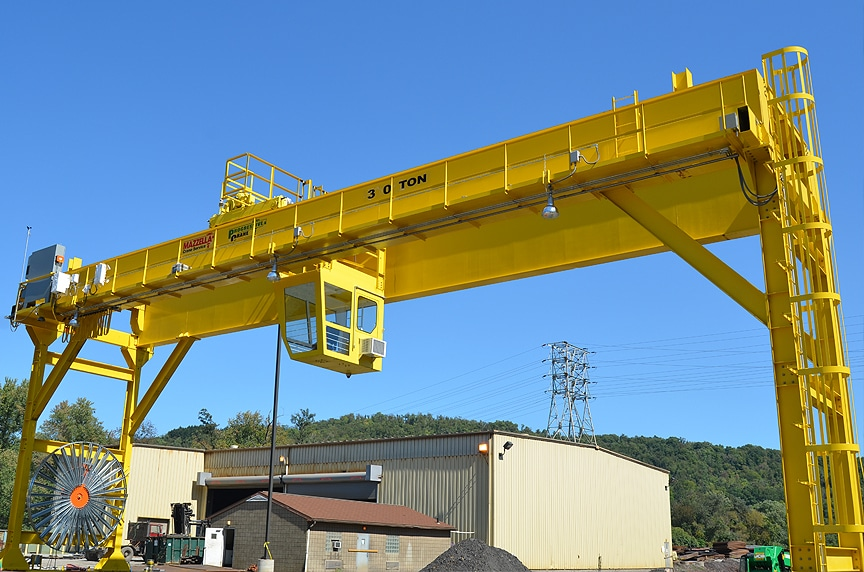 What is a Gantry Crane? Different Types and Design: Full Gantry