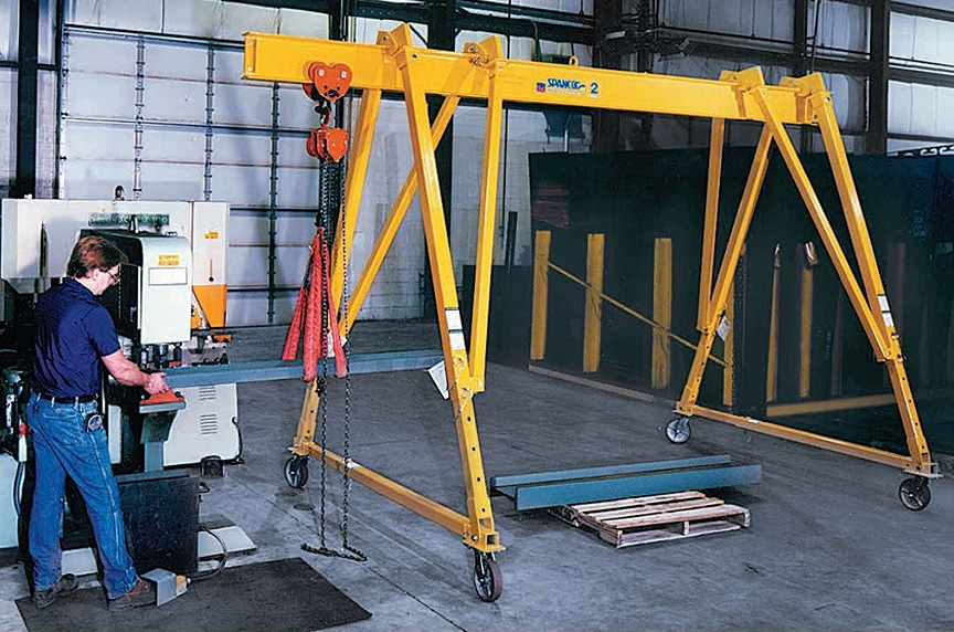 What is a Gantry Crane? Different Types and Design: Portable Gantry Crane