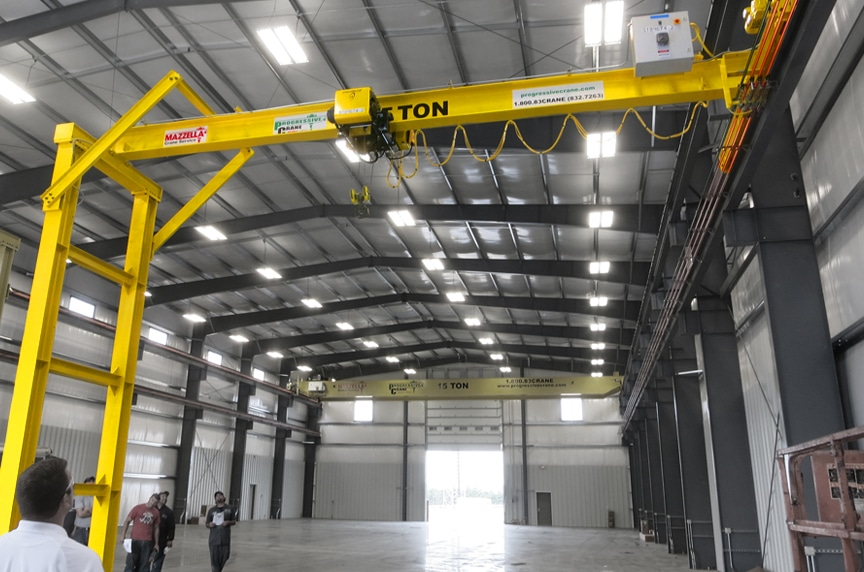 What is a Gantry Crane? Different Types and Design: Semi Gantry Crane