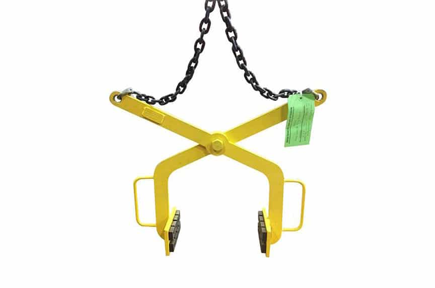 What Is a Below-The-Hook Lifting Device: Gripping Tong