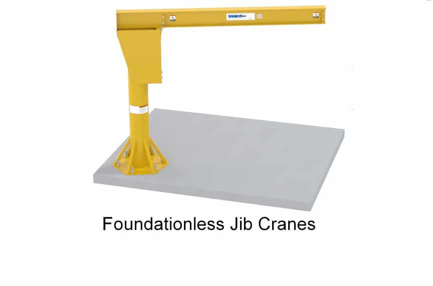 What Is a Jib Crane: Foundationless Jib Crane