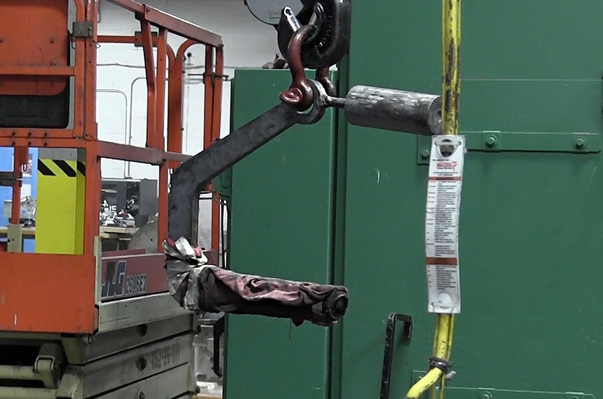 What Makes My Lifting Device OSHA Compliant: Unmarked / Untagged C-Lifter