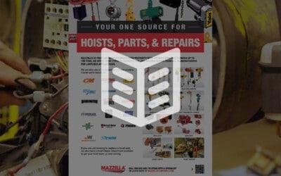 Hoists, Parts, & Repairs: Literature