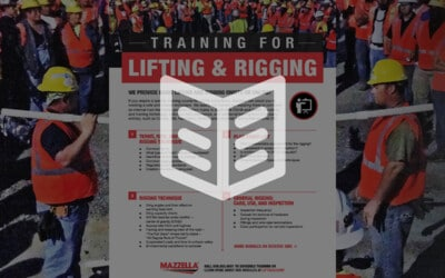 Lifting and Rigging Training: Literature