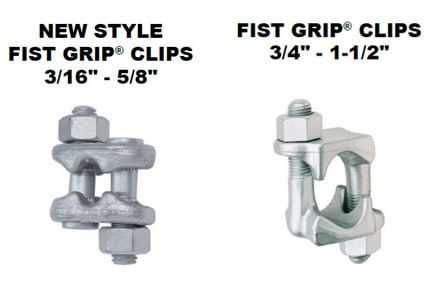 Fist Grip Wire Rope Clip Application Instructions: Clips