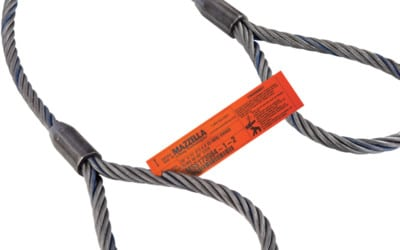 Single-Part Mechanically Spliced Wire Rope Sling: Featured