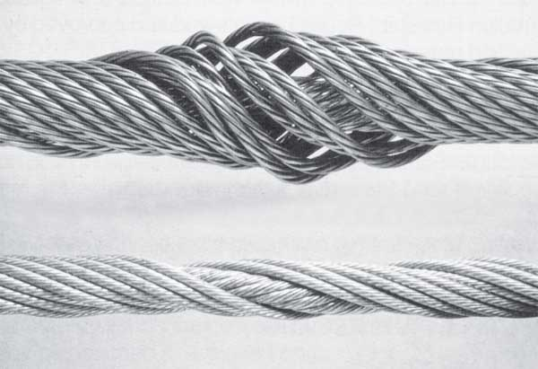 Wire Rope Inspection: Replacement Criteria for Rotational Resistant Ropes