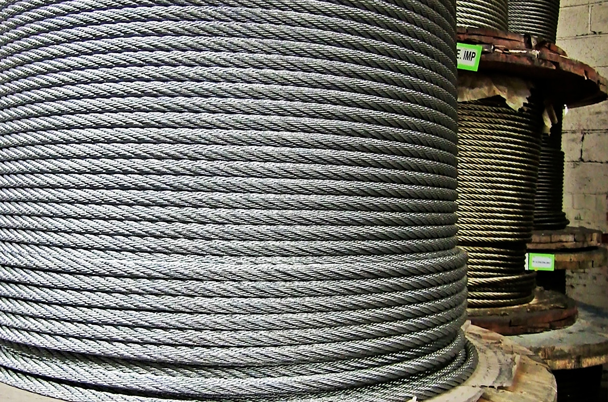A Wire Rope is a Machine With Many Moving Parts