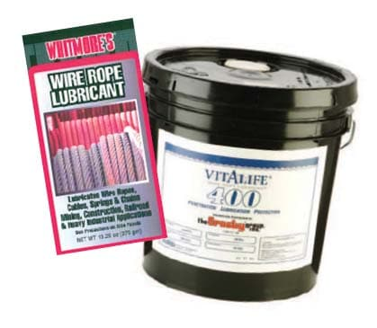 Wire Rope Sling Inspection Criteria: Crosby Vitalife Lube