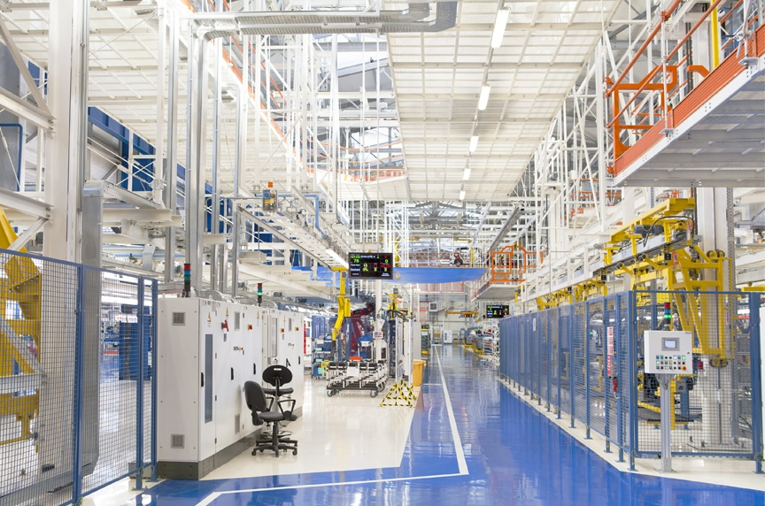 Industrial LED Lighting Solutions: Is an LED Retrofit Right for your Facility?: EcoZohm Mini