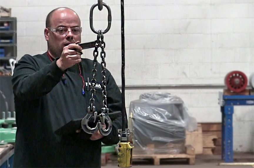 7 Reasons Why Inspection Tags Aren't Making Your Lifting Program Safer: Chain Sling Tag