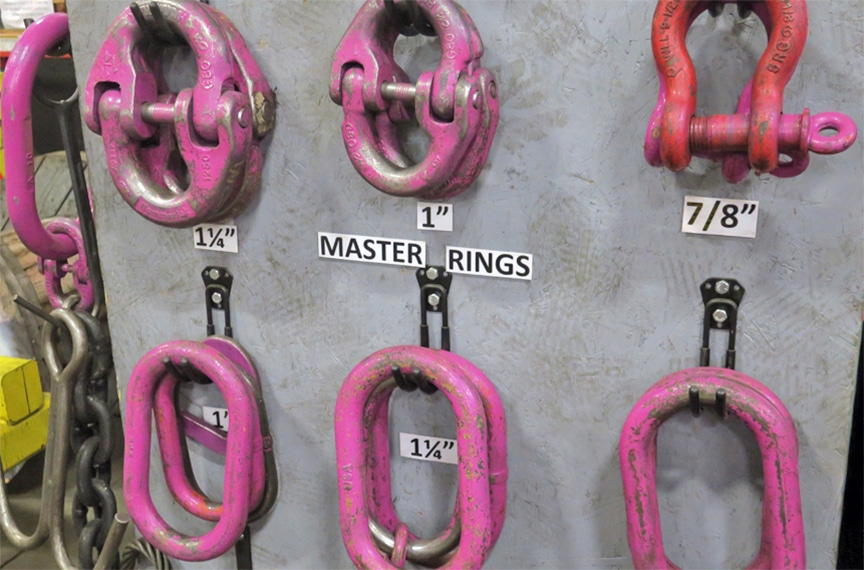 7 Reasons Why Inspection Tags Aren't Making Your Lifting Program Safer: Painted Hardware