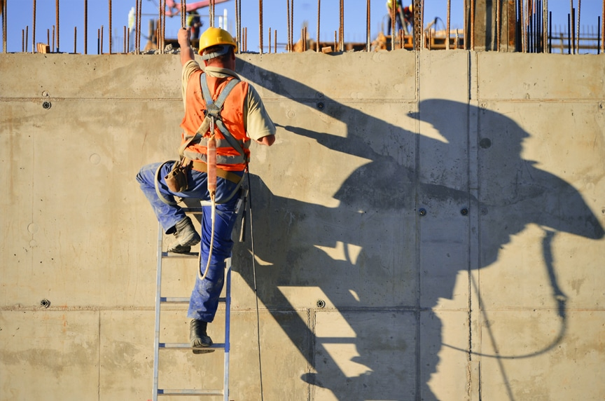 OSHA Ladder Safety Compliance: General Ladder Rules & Requirements: Safety Construction