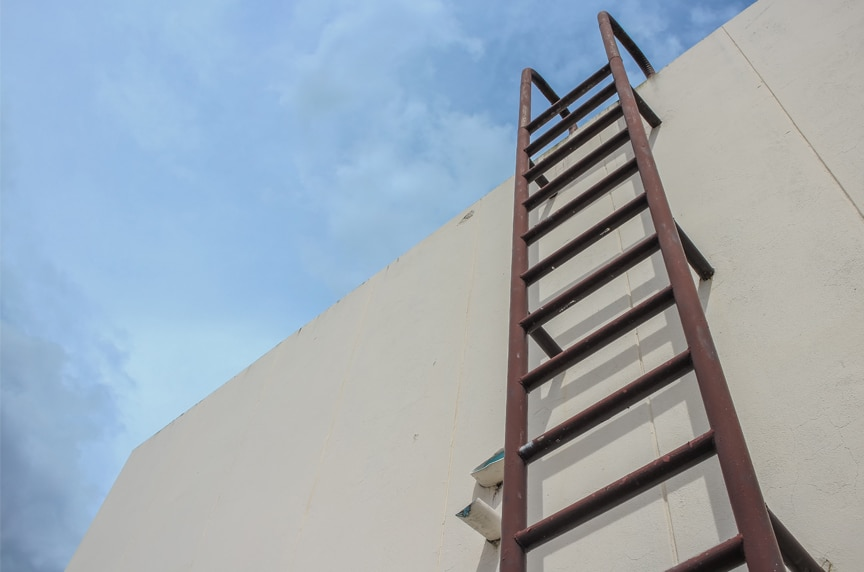 OSHA Ladder Safety Compliance: General Ladder Rules & Requirements: Ladder Safety