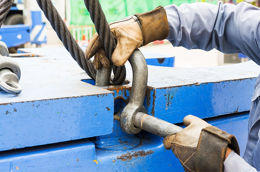 ASME B30.26 Shackle Inspection Requirements and Best Practices for Use: Rigging with Shackles