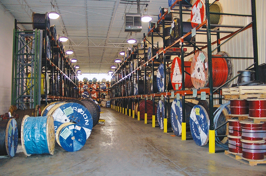 The Best Crane Rope and Wire Rope Suppliers in Florida: Wire Rope Inventory