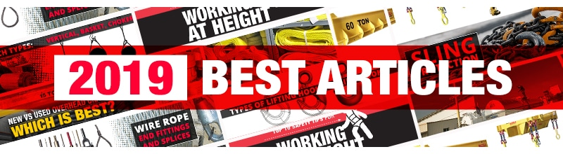 The Best Lifting and Rigging Articles of 2019: Banner