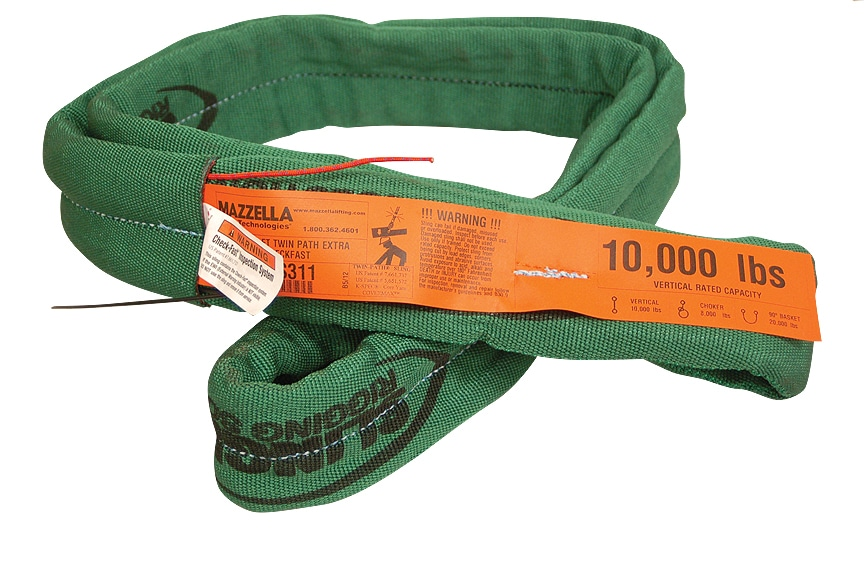 Choosing the Best Lifting Sling: Twin-Path Roundsling