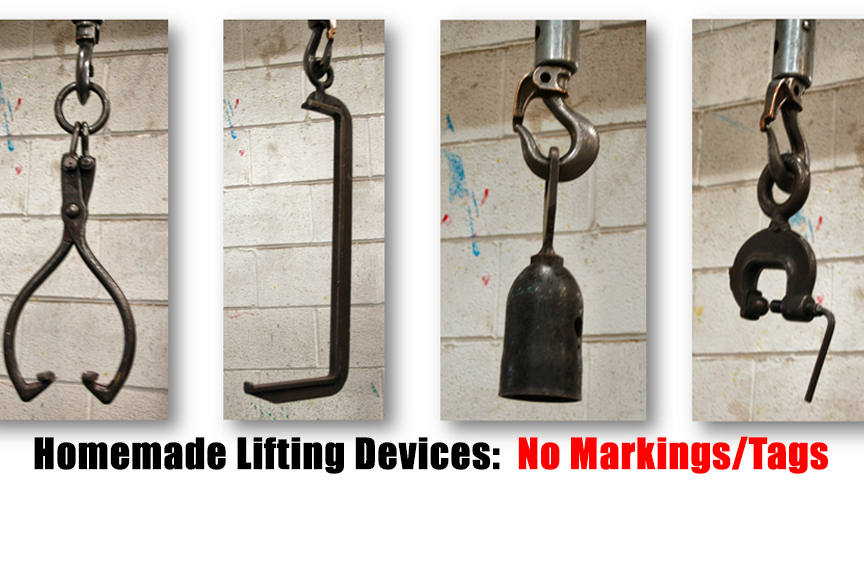 The 6 Most Common Problems Found During a Rigging Inspection: Homemade Lifting Devices