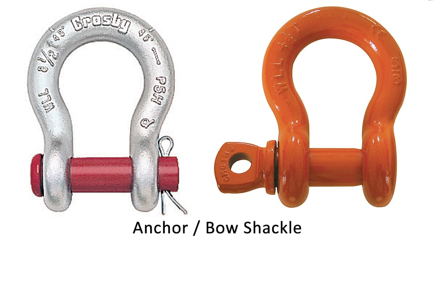 Different Types of Shackles: Anchor Bow Shackle