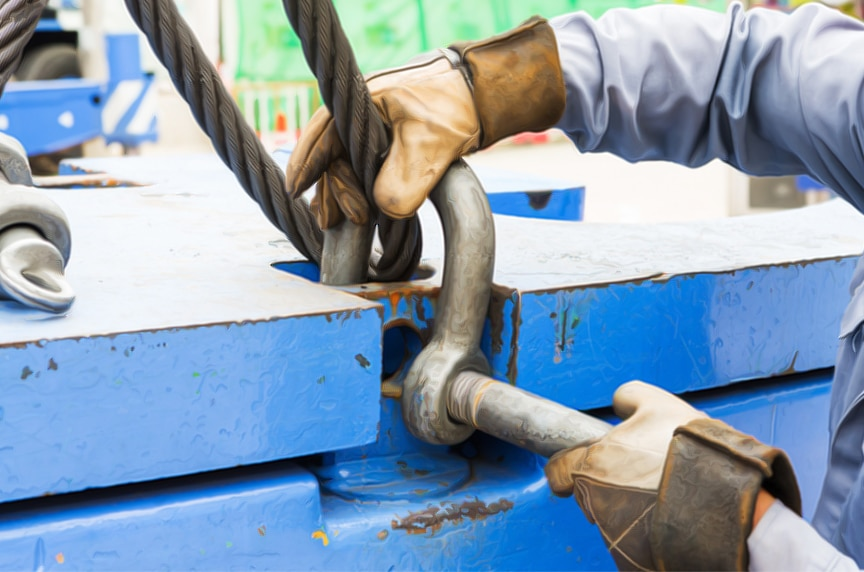 Different Types of Shackles: Anchor Shackle Rigging