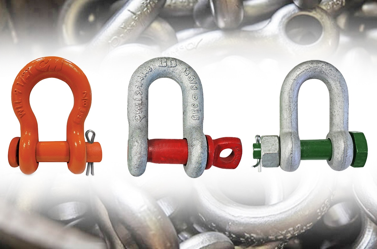 Different Types of Shackles: Anchor vs. Chain and Screw Pin vs. Bolt Type