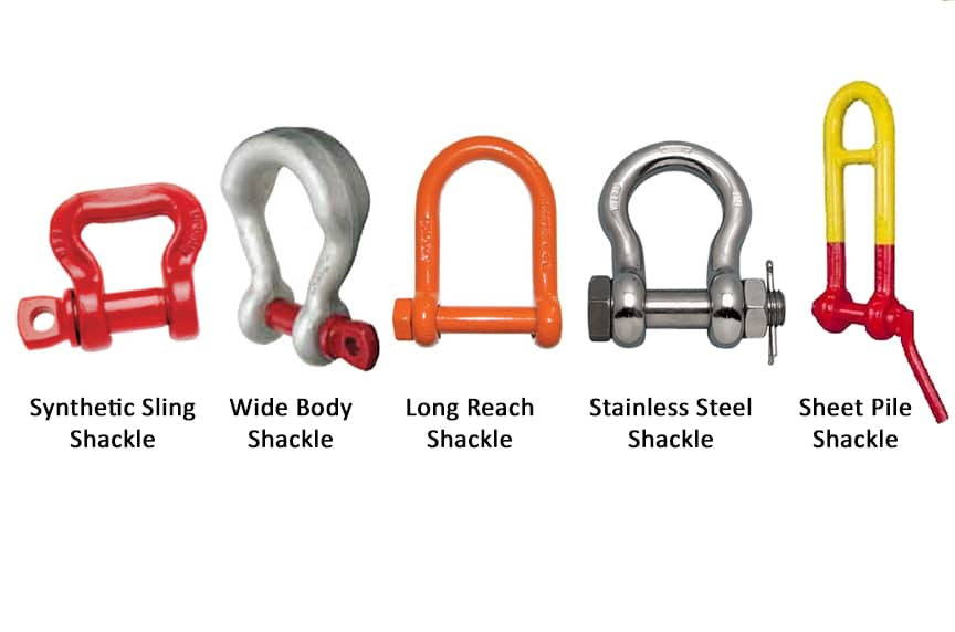 Different Types of Shackles: Specialty Shackles