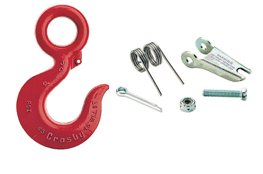 Does OSHA Require a Hook with a Safety Latch for an Overhead Lift: Hooks with Latch Kit