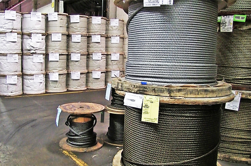 Electro Galvanized vs. Hot Dip Galvanized Wire Rope & Steel Cable: Wire Rope Cable Stock