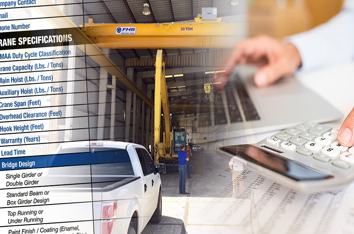 How to Gather and Compare Overhead Crane Quotes