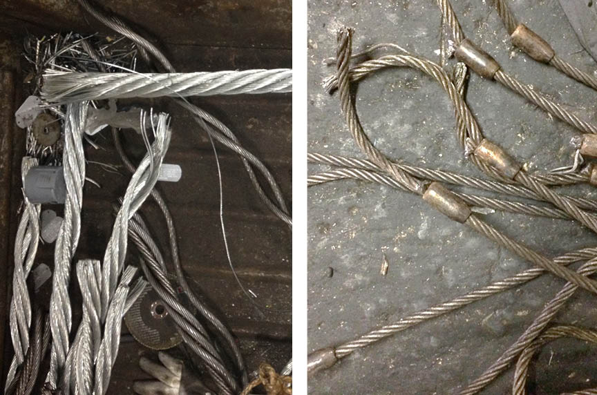 How to Dispose of Damaged Rigging Gear, Wire Rope, & Slings: Wire Rope Sling 2