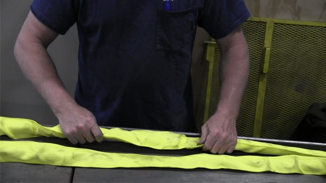 How to Inspect a Synthetic Roundsling to ASME B30.9 Standards: Synthetic Roundsling Inspection