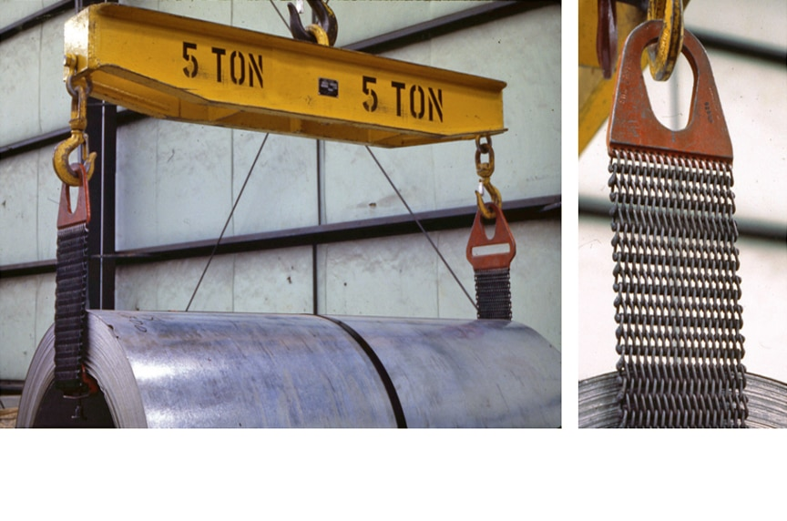 How to Inspect Your Metal Mesh Lifting Slings to ASME B30.9 Standards: Metal Mesh Lift