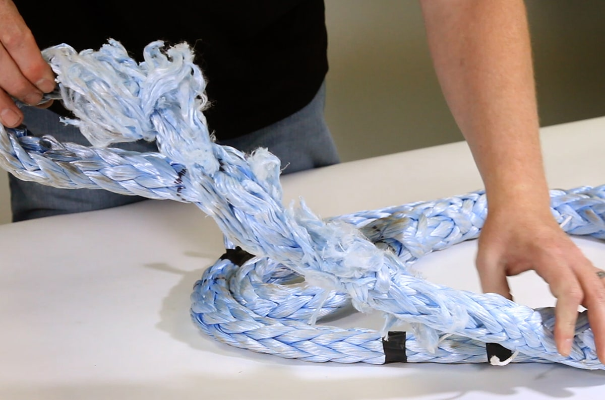 How Do I Inspect Synthetic Rope Slings to ASME B30.9 Standards?