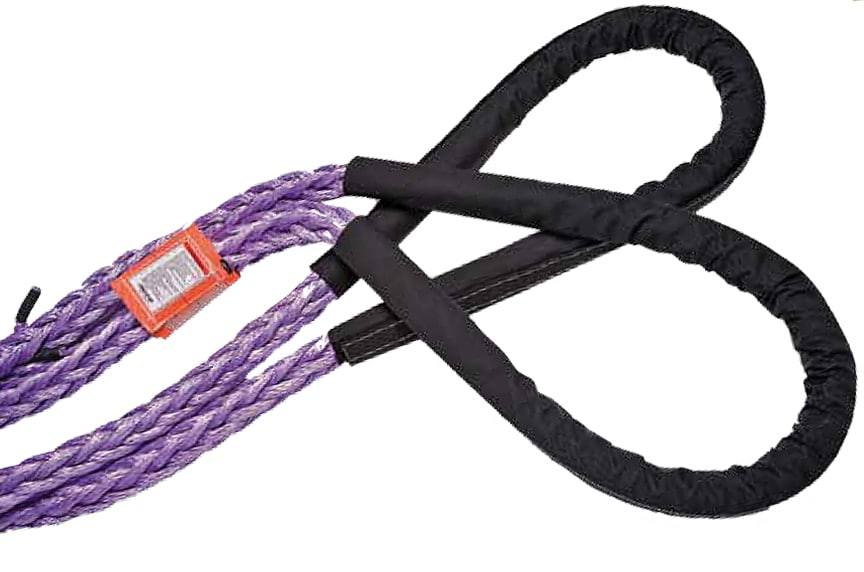 How Do I Inspect Synthetic Rope Slings to ASME B30.9 Standards: Synthetic Rope Sling with Tag