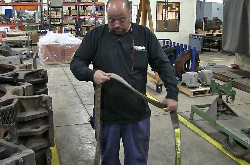 How to Inspect Synthetic Web Slings to ASME B30.9 Standards: Web Sling Inspector