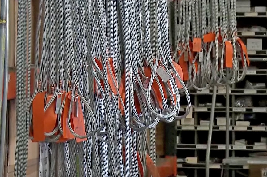How to Inspect Wire Rope Slings According to ASME B30.9 Standards: Wire Rope Sling Storage