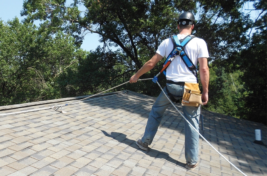 How to Make Your Personal Fall Protection Equipment OSHA Compliant: Roof