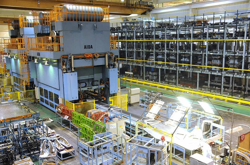 Lifting and Rigging Solutions for Die Handling and Automotive Stamping: Stamping Facility