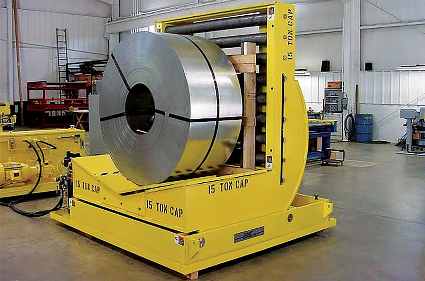 Lifting and Rigging Solutions for Die Handling and Automotive Stamping: Up Ender