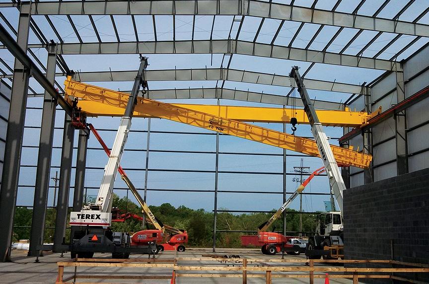 Overhead Crane Installation Procedures: Class E Crane Install 1