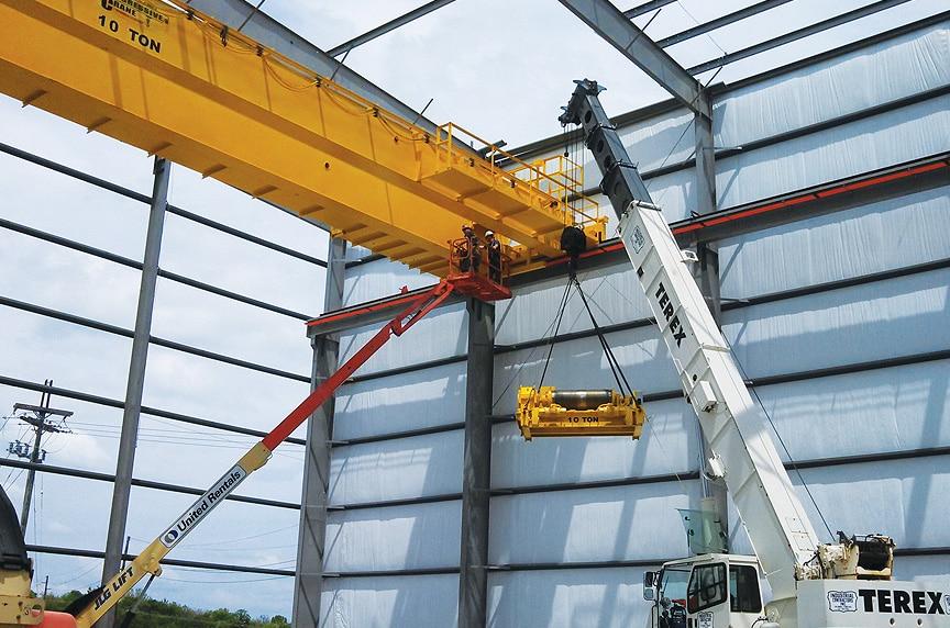 Overhead Crane Installation Procedures: Class E Crane Install 2