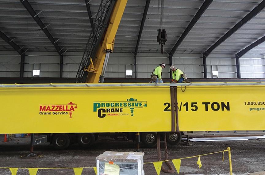 Overhead Crane Installation Procedures: Crane Installation Rigging
